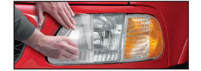 Headlight and Fog Light Protection Film