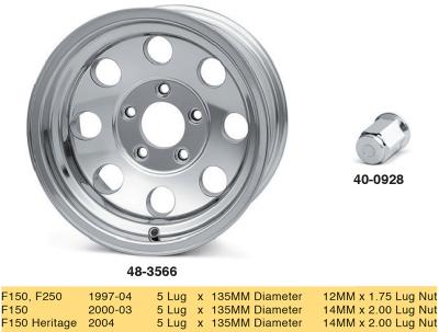 Polished Aluminum Modular Wheels