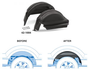 Molded Rear Wheel Well Liners