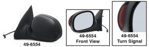 Power Door Mirrors With Turn Signal