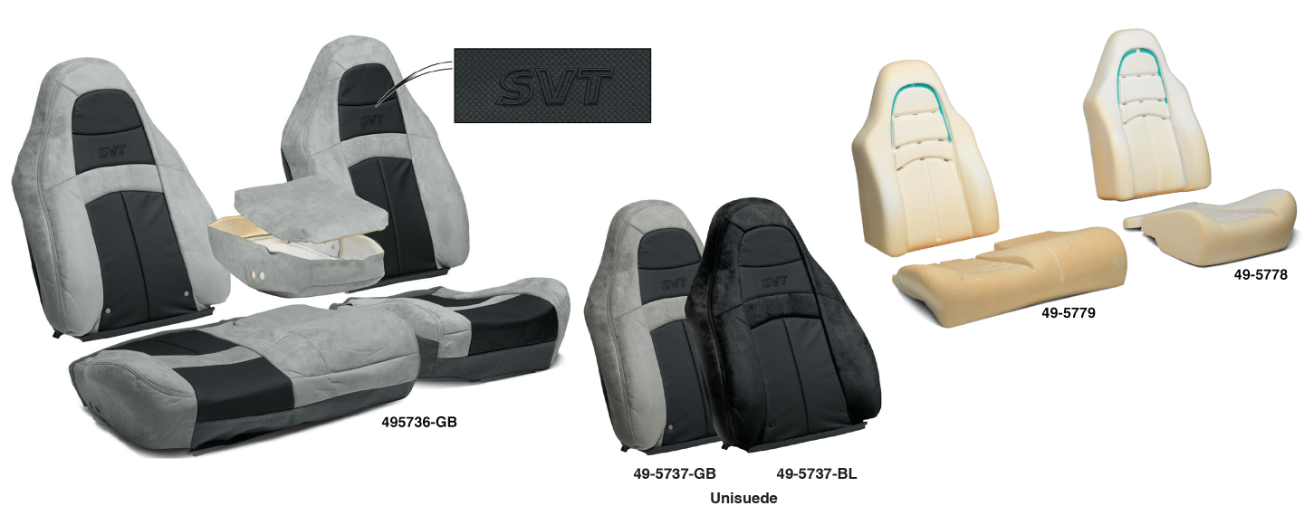 1999-04 Ford F150 SVT Lightning Upholstery & Seat Foam … The Ultimate Replacement for Your Worn Out Seats