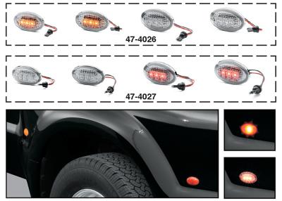Dually LED Fender Marker Light Sets