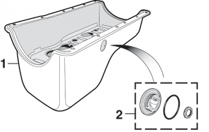 Oil Pan and Components