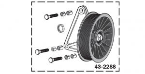 Air Conditioner Bypass Pulley