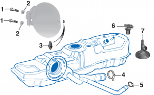 Gas Tank Components