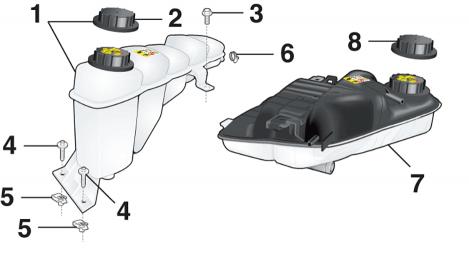 Radiator Overflow Tank
