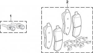Rear Wheel Disc Brake Components