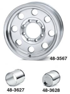 <b>Polished Aluminum Modular Wheels</b>