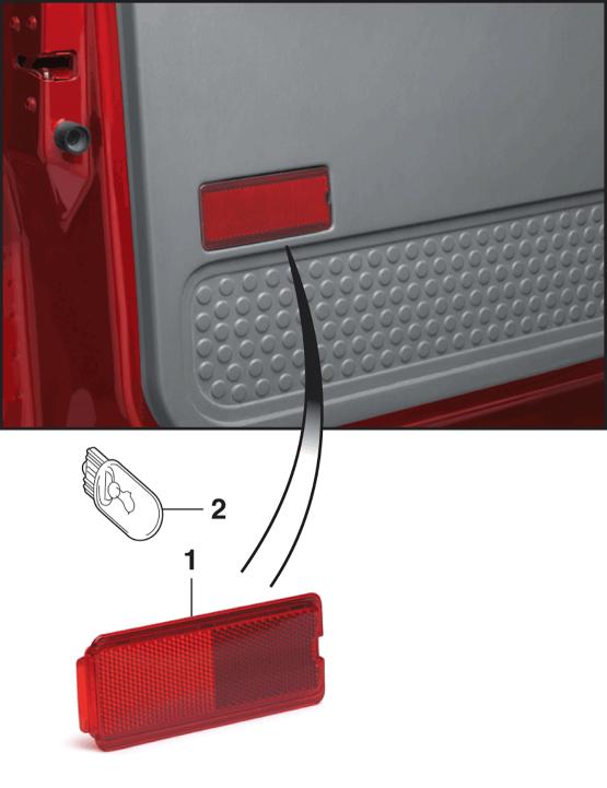 Door Panel Lens