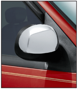 Chrome Door Mirror Cover Set