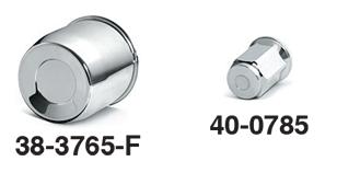 Chrome Center Cap and Lug Nuts