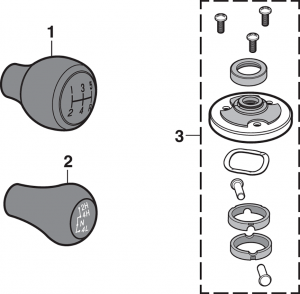 Floor Shifter Components