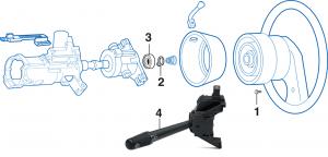 Steering Column - WITH Tilt Wheel