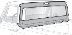 Large Window Rear Inner Panel