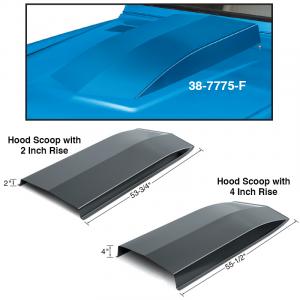Steel Hood Scoops