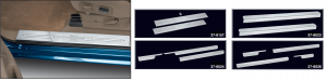 Door Sill Plate Sets and Threshold Plate Sets