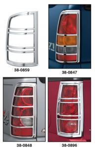 Chrome Tail Light Covers