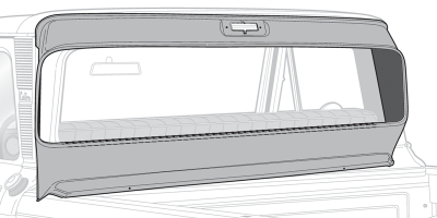 Large Rear Window Conversion Panel