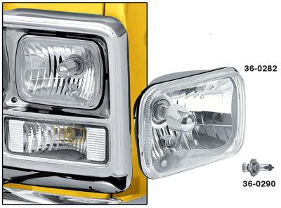 Custom Single 200MM Rectangular Headlight