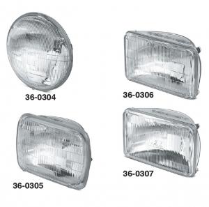 1973-89 High-Performance Halogen Headlights