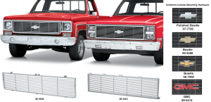 1973-91 All Chrome Special Edition Grille