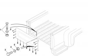 1973-87 Stepside Front End Panel Attachment