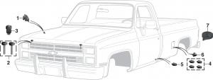 1973-91 Exterior Rubber Parts