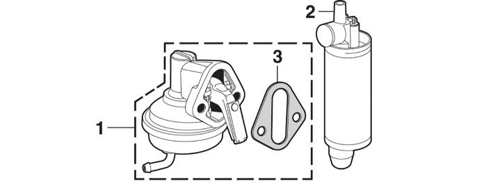 1973-89 Fuel Pump - 6 Cylinder