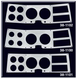 Billet Aluminum instrument Overlays