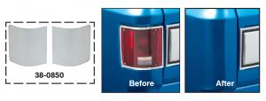 1973-91 Tail Light Filler Panels