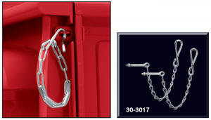 1973-87 Tailgate Chain Set