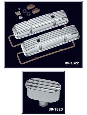 1973-86 Finned Aluminum Valve Cover Set