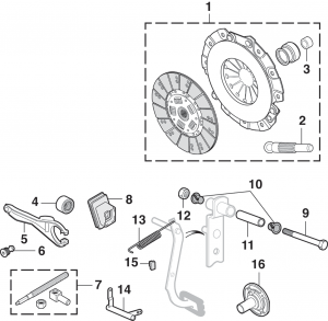 1973-89 Clutch Kits and Components
