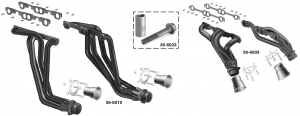 1973-89 Exhaust Headers ... Bolt On up to 20% Horsepower Increase