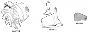 1973-89 High Amp Alternators