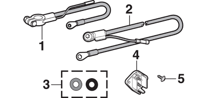 1973-89 Battery Cables