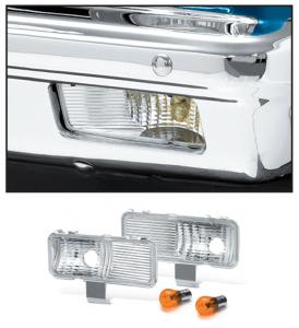 Custom Parklight Set 1981-82 with Single or Dual Headlight
