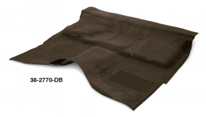 1973-87 Dark Brown Molded Carpet