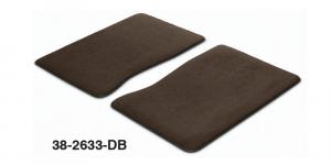 1973-91 Dark Brown Front Floor Mat Set