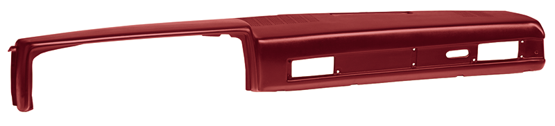 1981-87 Dash Pad-Red