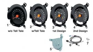 1973-87 Tachometers-7000 RPM