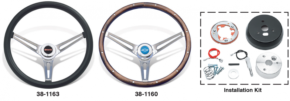 Classic Foam and Classic Wood Steering Wheels