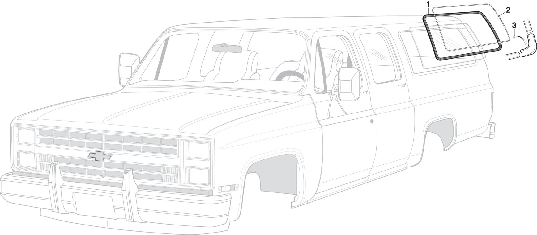 Body Side Window Components