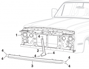 Grille Mounting Components