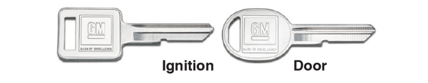 Ignition and Door Key Blanks