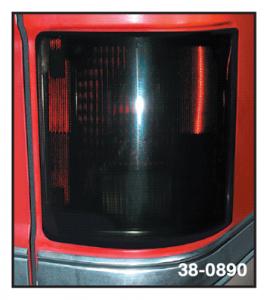 Smoke Tail Light Cover Set