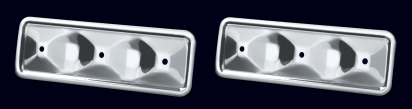 Chrome Engine Sideplate Set