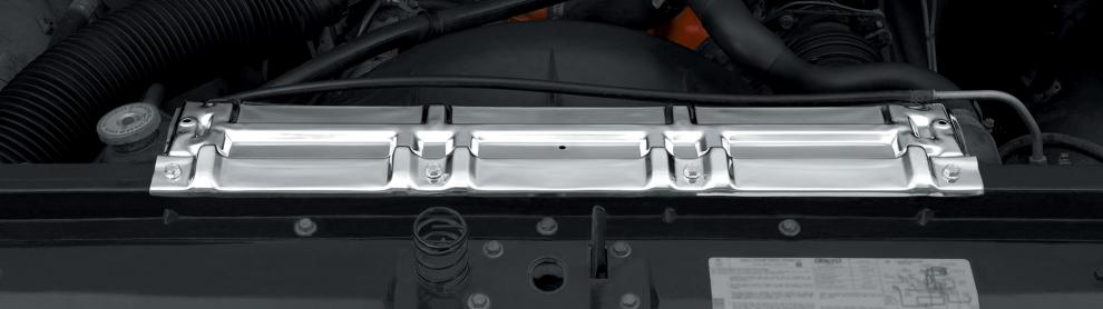 Chrome Radiator Support Panel