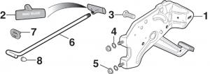 Parking Brake Pedal Components