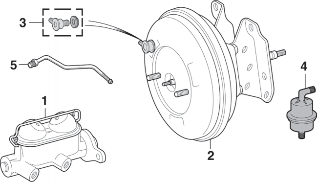Brake Master Cylinder and Components